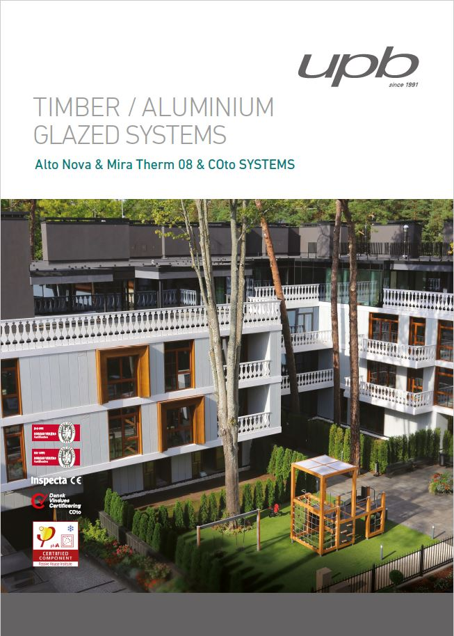 Timber / Aluminium glazed systems