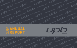 UPB_Annual_report_year_2019